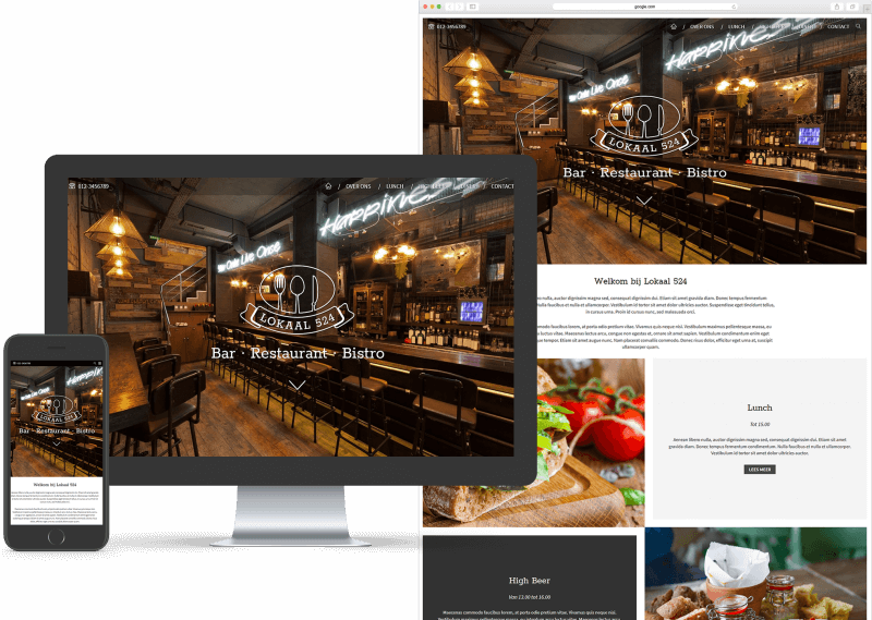 Blocks - Restaurant template